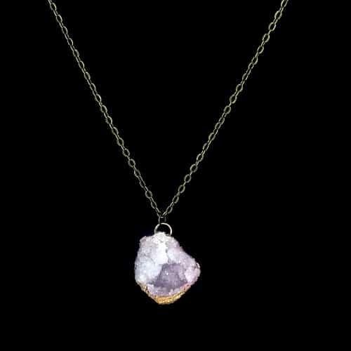 White Spirit Quartz Necklace