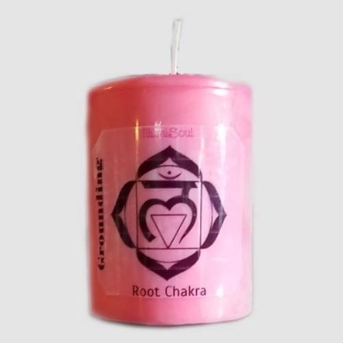 root chakra candles large