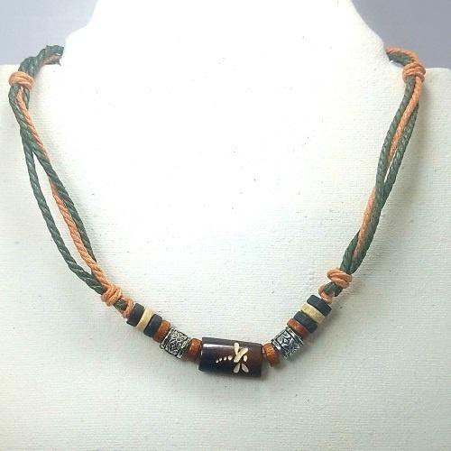 adjustable hemp necklace