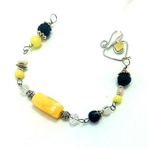 purpose solar plexus chakra bracelet