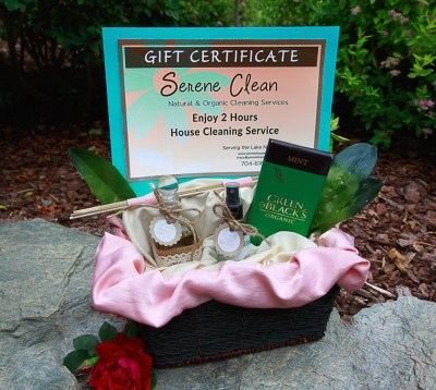 House Cleaning Gift Basket