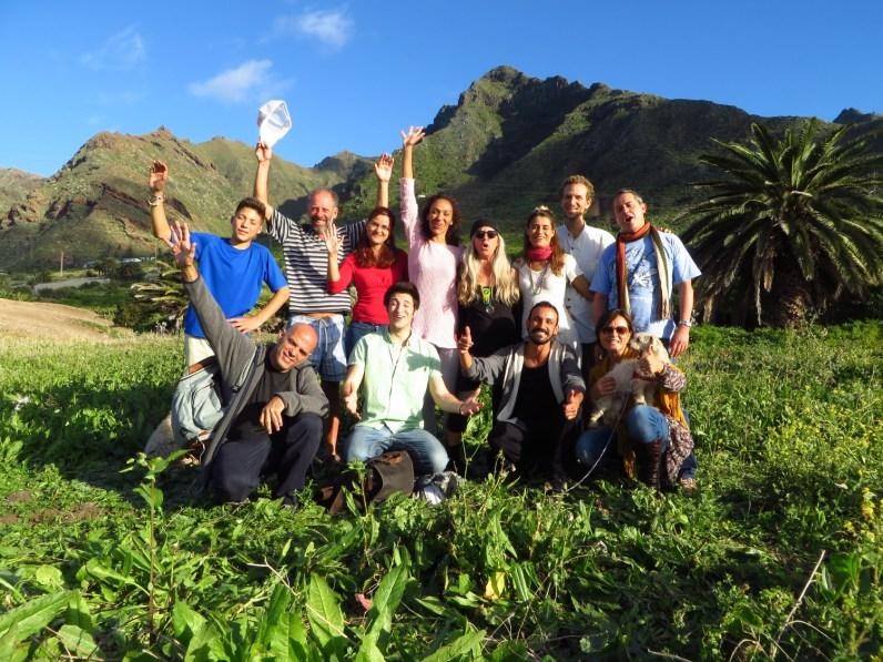 team serene light gardens permaculture tenerife