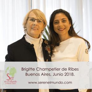 Entrevista a Brigitte Champetier de Ribes. Las Fuerzas del Amor.