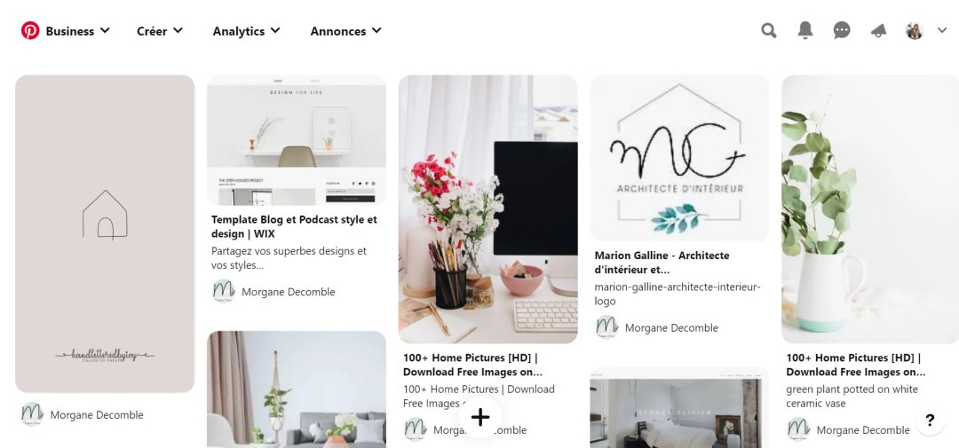 5 étapes essentielles pour créer son identité visuelle - Pinterest tableau