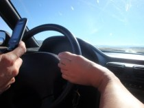 driving with feet
