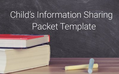 Child's Information Sharing Packet Template