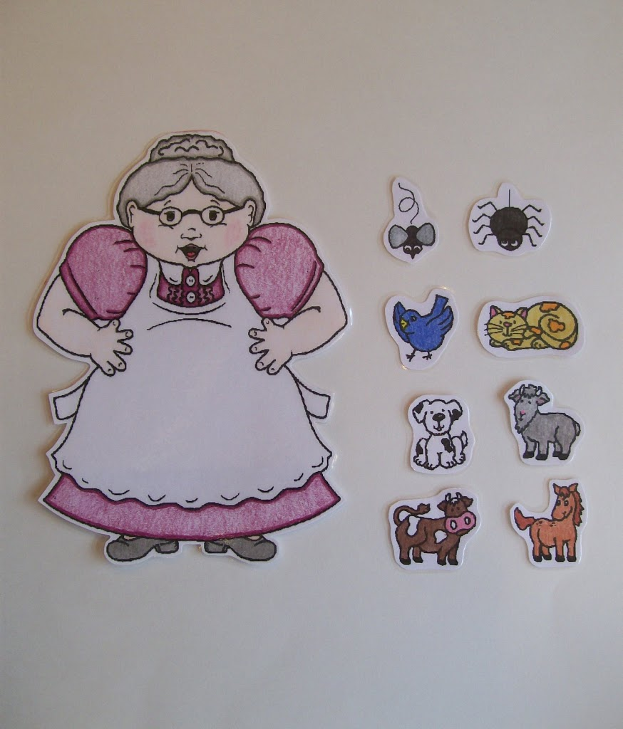 photo about There Was an Old Lady Printable Template named My Come across of the 7 days : Small children Audio Rhymes Functions