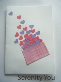full of love - Handmade Valentines Cards
