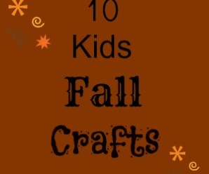 10 Kids Fall Crafts
