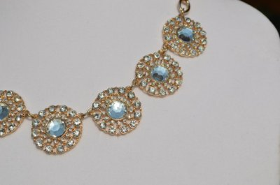 PRE- HOLIDAY SALE -Crystal Disc Necklace