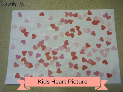 kids heart picture - valentines day