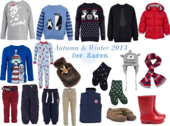 Autumn & Winter 2013 - Aaron