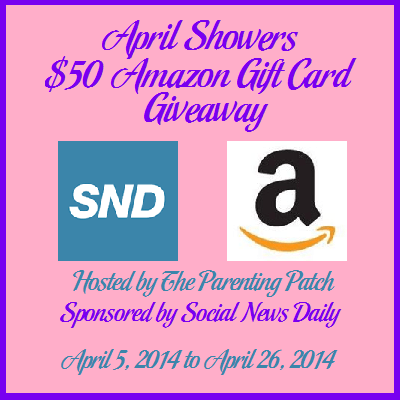 April Showers $50 Amazon Gift Card Giveaway (WW) ends 26th