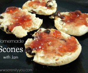 Homemade Scones with Jam