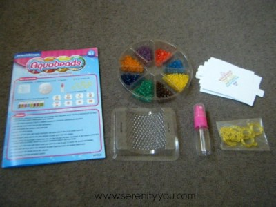 Aquabeads Jewel Rings Set contents