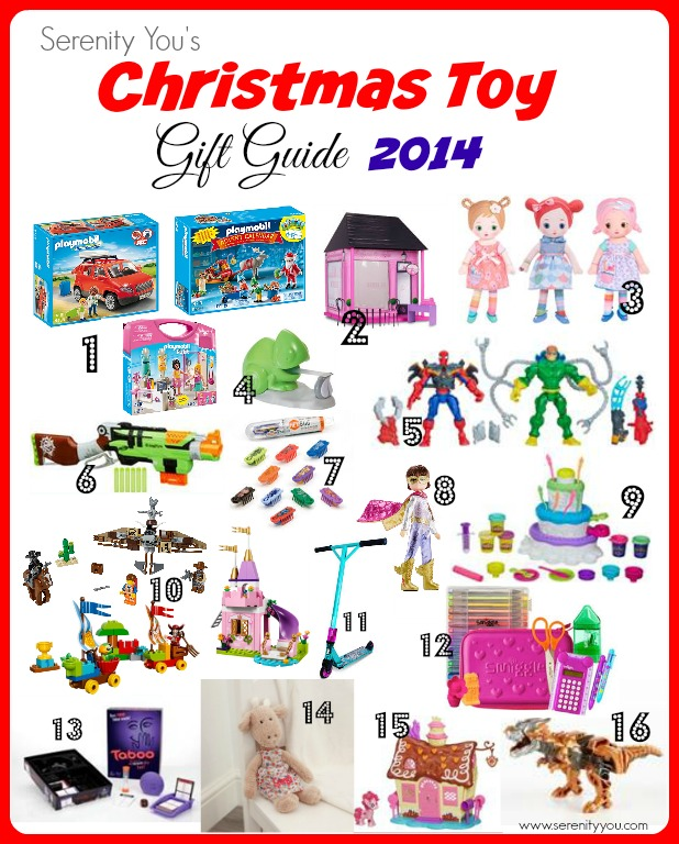 Serenity you - Christmas Toy Gift Guide 2014