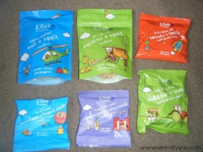 #Standupforgoodsnacks with Ella's Kitchen new Snacking Range