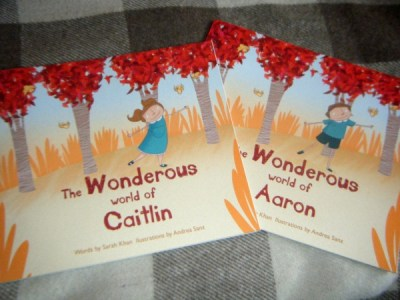 wonderous ink book - personalized with your child's name