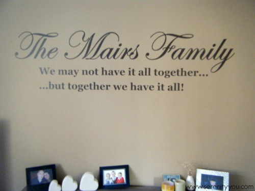 personalized wall sticker