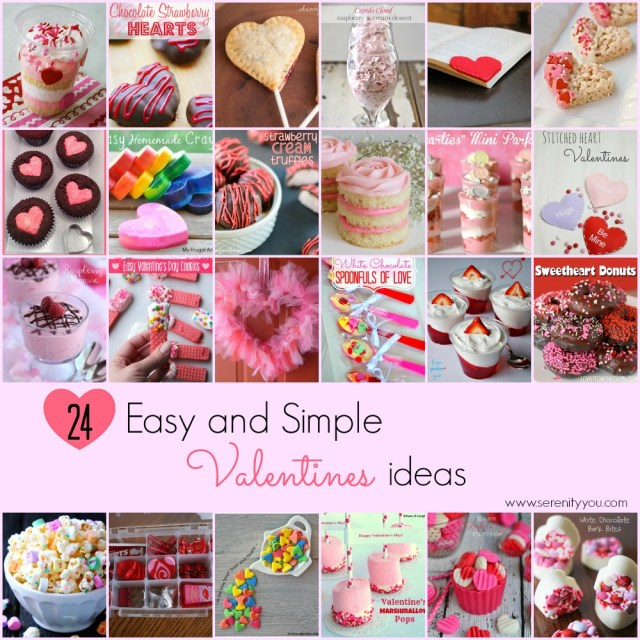 24 easy and simple valentines ideas