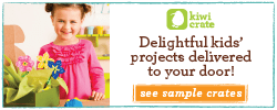 Delightful kids' crafts delivered to your door!  See sample crates