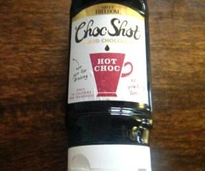 Choc Shot – Liquid Chocolate + Giveaway