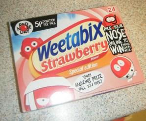 New Limited Edition Strawberry Weetabix