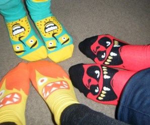 I Love ChattyFeet Socks