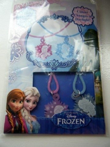 frozen colour change necklaces