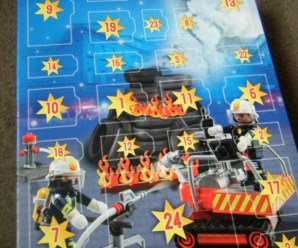 Playmobil Advent Calendar Fire Rescue with Operation Card Game
