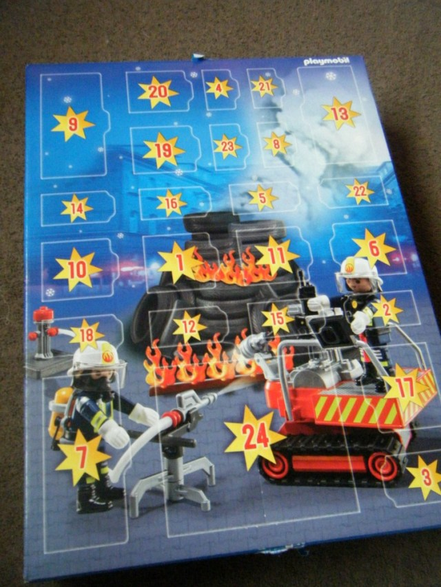 playmobil advent calender Fire Rescue