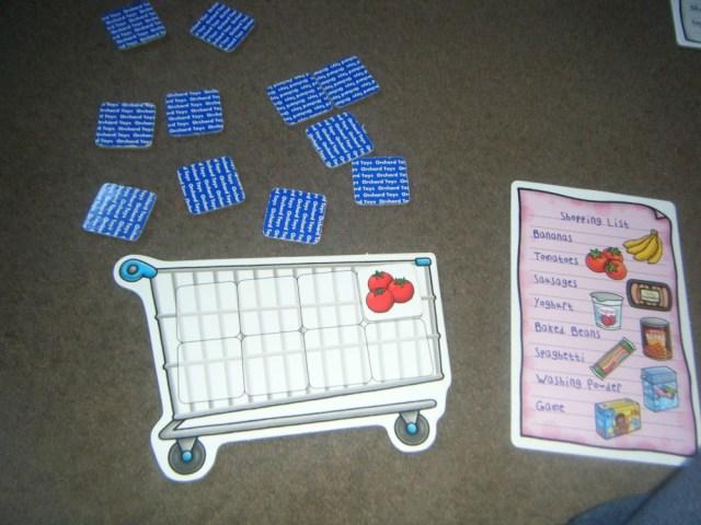 shopping list game 4