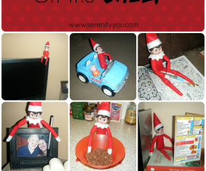 Our Home Welcomes The Elf on the Shelf
