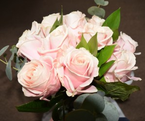 Pink Roses from Blossoming Gifts + Giveaway