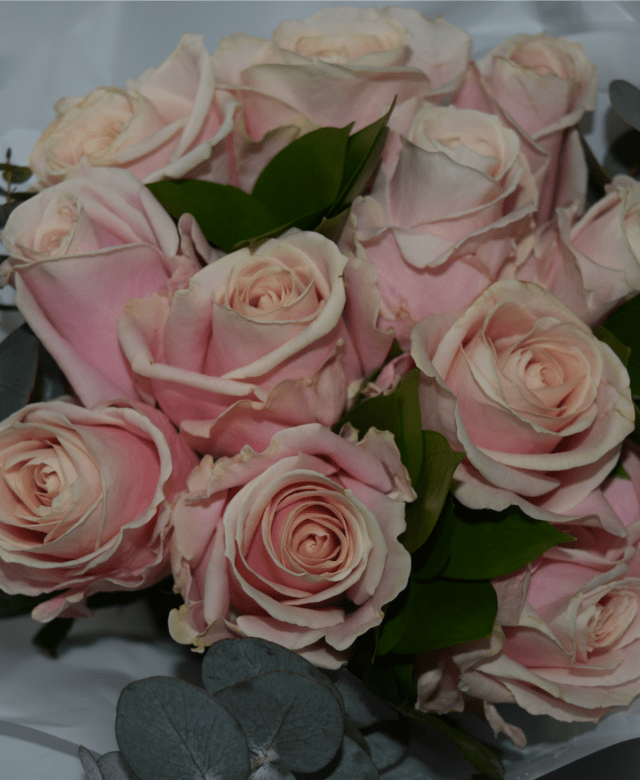 blossoming gifts - pink roses 4