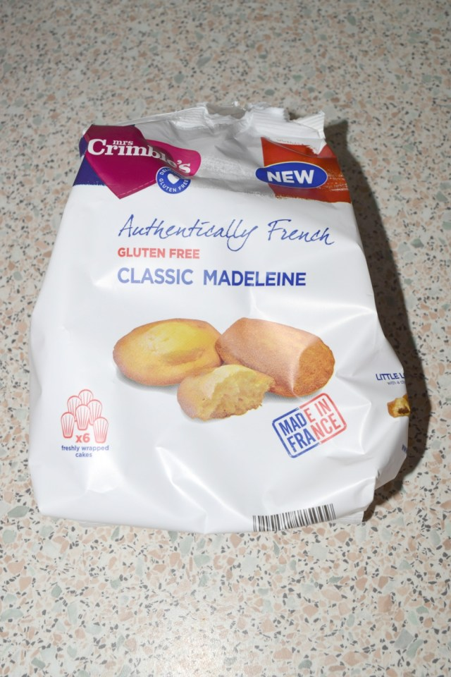 degustabox may - madeleine