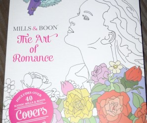 Mills and Boon Adult Colouring Book Review + giveaway