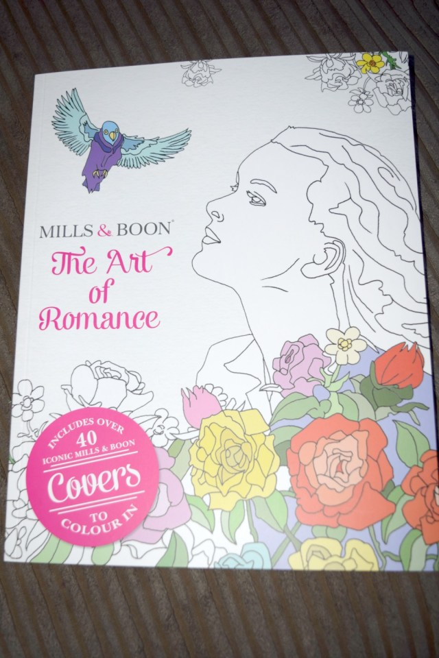 mills and boons adult colouring book 1