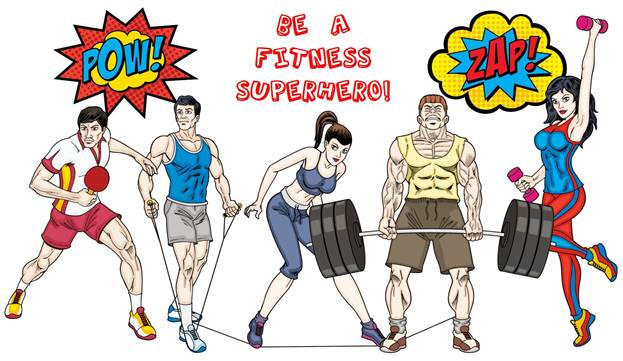 superhero fitness - What Fitness Superhero Are You?