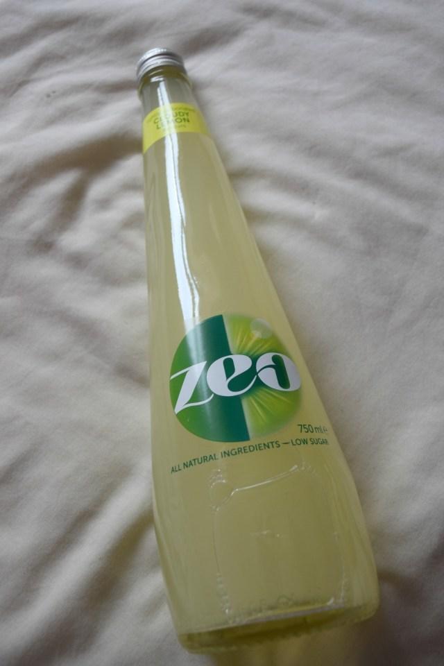 degustabox - june - zeo