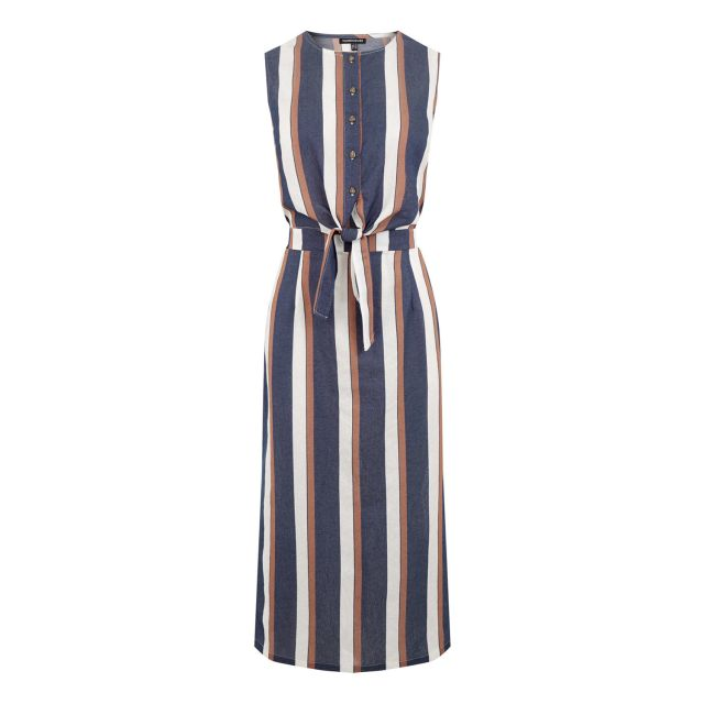 striped shirt maxi dress - maxi dresses