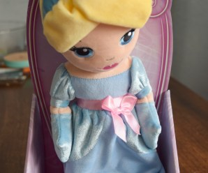 Personalised Plush Disney Princess Doll + giveaway