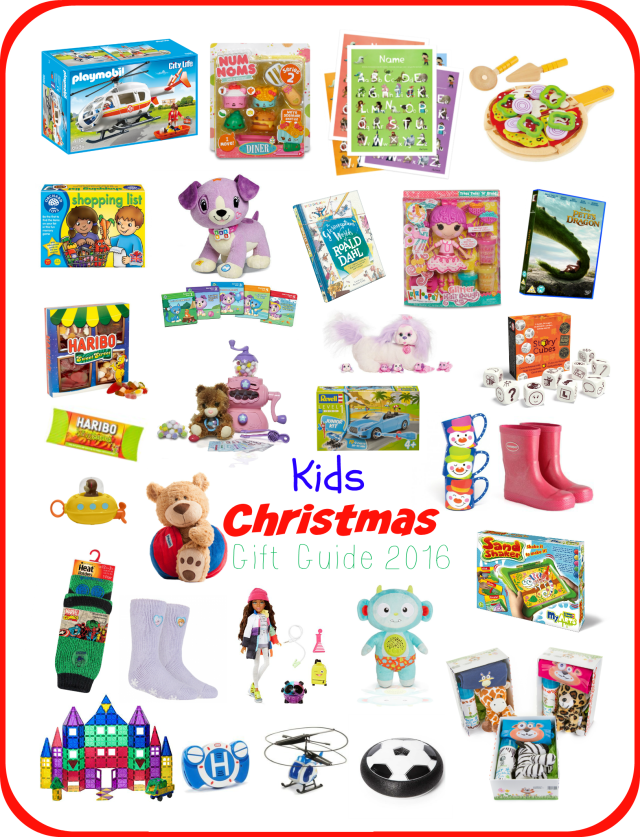 Kids Christmas Gift Guide 2016