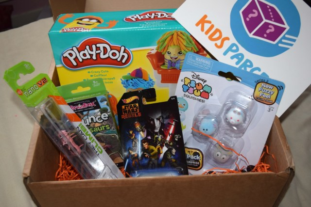 what we got - Kids Parcel - mystery box - serenity You