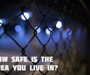 How Safe is the Area You Live in?