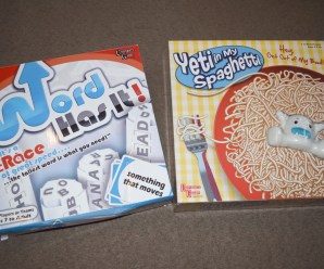 Word Has it! & Yeti in my Spaghetti Games Review