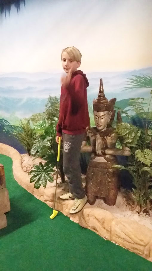 Our Trip to Paradise Island Adventure Golf at the Intu Centre Derby
