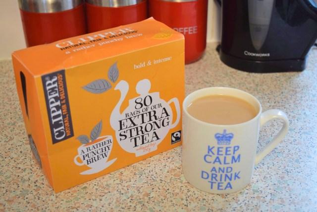 clipper tea extra strong