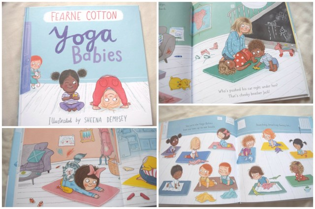 Yoga Babies by Fearne Cotton book review