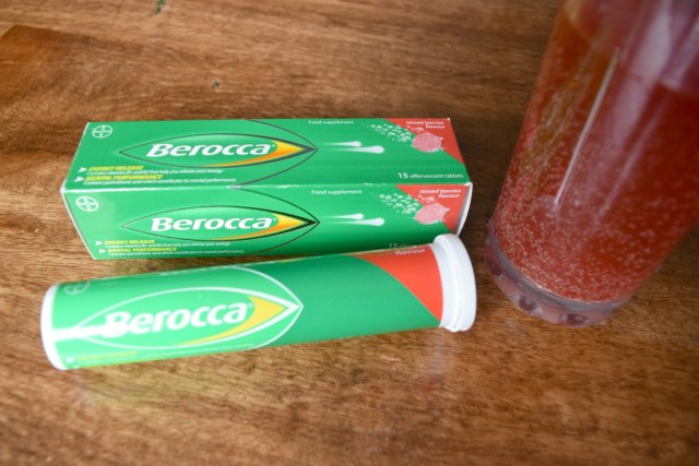 Giving My Energy Levels a Boost with Berocca